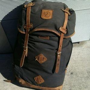Fjallraven large rucksack backpack bag